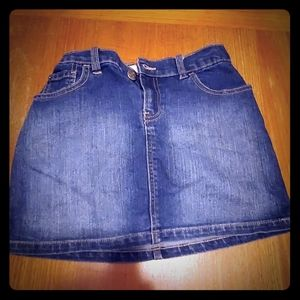 Childrens Place Jean Skirt Size 12